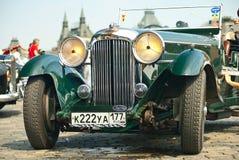 Retro Car Aston Martin Lagonda royalty free stock images