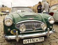 Retro car Austin-Healey Stock Photos
