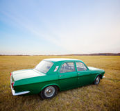 Retro car. Royalty Free Stock Photos