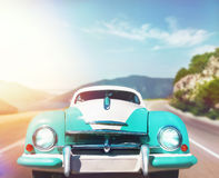 Retro car Royalty Free Stock Photography