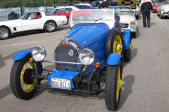 A retro car Bugatti Stock Images
