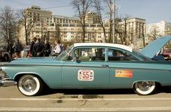 Retro car cadillac Stock Images