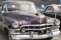 Retro car Cadillac S62 1950 release Royalty Free Stock Images