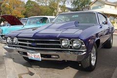 Retro car Chevrolet Stock Photo