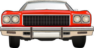 Retro Car Chevrolet Stock Image