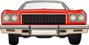 Retro Car Chevrolet. CHEVROLET. Vector illustration of the classical car vector illustration