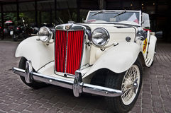 Retro car close-up Stock Image