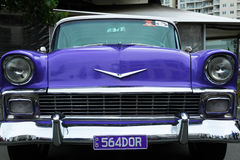 Retro car. Cooly Rocks On Festival Royalty Free Stock Images