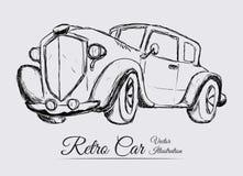 Retro car Stock Photography