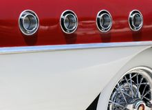 Retro car detail Royalty Free Stock Images