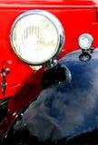 Retro car detail Stock Photos