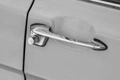 Retro car door handle. Stock Images