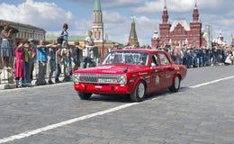 Retro car Dzintara Volga GAZ-24 Royalty Free Stock Photos