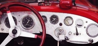 Retro Car fragment Stock Photo