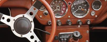 Retro Car fragment Royalty Free Stock Photography