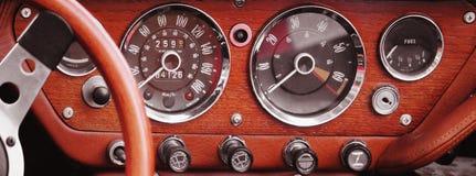 Retro Car fragment Stock Photos