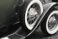 Retro Car fragment Royalty Free Stock Photos