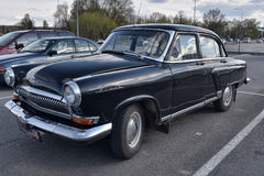Retro car GAZ-21 Volga Royalty Free Stock Photo