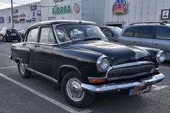Retro car GAZ-21 Volga Royalty Free Stock Photos