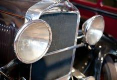 Retro car gitter Stock Image