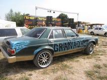 Retro car - Granada. Exhibition of vintage cars in the city of Essentuki Stock Images