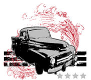 Retro Car Royalty Free Stock Images
