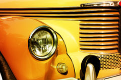 Retro car headlight Royalty Free Stock Photography