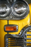 Retro car headlight Stock Images