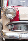 Retro car headlight Royalty Free Stock Photo