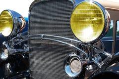 Retro car. The headlight Royalty Free Stock Photography