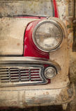 Retro car headlight Stock Photography