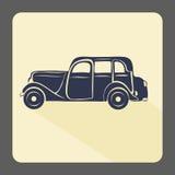 Retro car icon Stock Photo