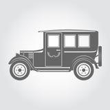 Retro car illustration Stock Image