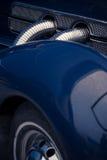Retro car intake Royalty Free Stock Photo