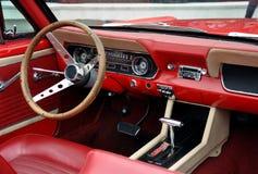 Retro car interior Royalty Free Stock Photography