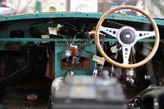 Retro Car Interiors Stock Photos