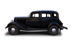 Retro car. Royalty Free Stock Images