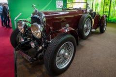 Retro car Lagonda 3-Litre LC Tourer, 1934. Stock Image