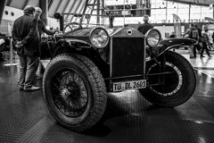 Retro car Lancia Lambda Serie 8, Torpedo, 1928. Royalty Free Stock Images
