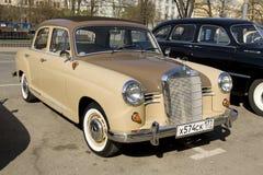 Retro car mercedes benz Royalty Free Stock Photos