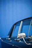 Retro car mirror Stock Photo