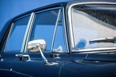Retro car mirror Stock Photography