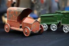 Retro car model Stock Photos