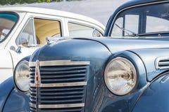 Retro car Moskvich-400/401 avtoarena in Cheboksary. Royalty Free Stock Photo
