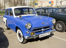 Retro car Moskvich Royalty Free Stock Photo