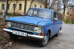 Retro car Muscovite Stock Photography