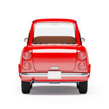 Retro car orange 1960 Royalty Free Stock Images