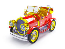 1910 retro car Stock Photo