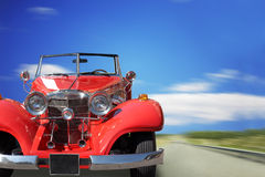 Retro the car Royalty Free Stock Images