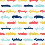 Retro car seamless pattern Royalty Free Stock Photography